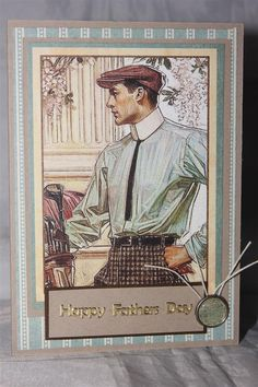 A Ladies Diary - Fathers day card