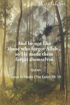 Ya Allah make us from those who don't forget you..Aameen.