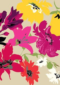 Saturated florals! Millers Floral