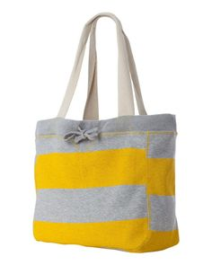 Striped Beach Bag Tote