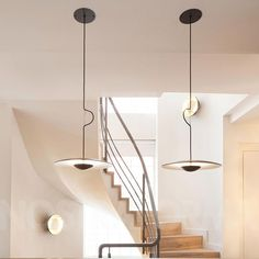 Suspension en wengé Ginger - Marset - The Cool Republic Mini Pendant Lights, Pendant Lamp, Pendant Lighting, Modern Lighting, Lighting Design, House Lighting, Interior Dorado, Blitz Design, Chandelier In Living Room