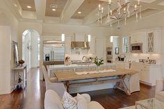 White. Kitchen. Martin & Malkemus. Covington, LA