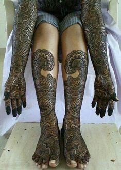 bridals full mehendi designs image