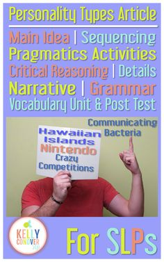 Target Every Goal for your 6-12th grade speech therapy students with these handy units.     [Each unit includes an informational article, main idea, sequencing, pragmatics, critical reasoning, details, narrative, grammar, and vocabulary activities]