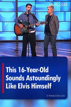 Elvis' spirit lives on in this talented from Quebec. You won't believe your ears when you hear David Thibault take the stage on Ellen. Music Sing, Pop Music, Live Music, Best Songs, Awesome Songs, Young Elvis, Show Dance, Reality Tv Shows, Beautiful Songs