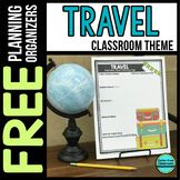 Browse over educational resources created by Clutter-Free Classroom in the official Teachers Pay Teachers store. Travel Theme Decor, Travel Themes, Classroom Themes, Classroom Organization, School Chalkboard, Map Skills, First Year Teachers, New School Year, Learning Environments