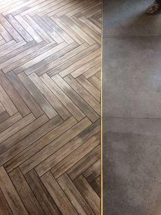 Transition flooring