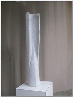 Zuil, carrara, 100 x 18 cm