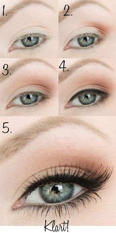 Simple Smoky Eye Makeup Tutorial - Head over to Pampadour.com for product suggestions to recreate this beauty look!
