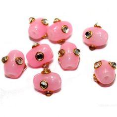 Buy best quality glass meenakari  beads.......http://bit.ly/1Slfe0t