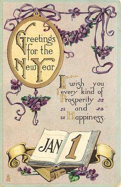 Vintage Happy New Year Card Vintage Happy New Year, Happy New Year Pictures, Happy New Years Eve, Happy New Year Quotes, Happy New Year Cards, Happy New Year Wishes, Happy New Year Greetings, Happy New Year 2019, Merry Christmas And Happy New Year