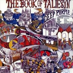 Purchase this original 1968 vinyl pressing of The Book Of Taliesyn, the second album from English rock band Deep Purple. Browse our growing selection of other rock albums on vinyl at Voluptuous Vinyl Records! Lps, Rock Album Covers, Classic Album Covers, Deep Purple, Used Vinyl Records, Lp Vinyl, Vinyl Cover, Cover Art, Hard Rock