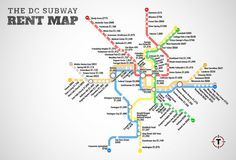 The DC Metro Rent Map: Which Stops Can You Afford?