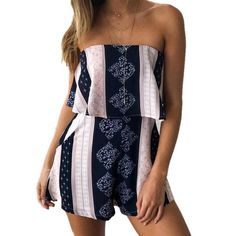 8bdc8eb04df ooMAXI Ladies Floral Romper and Playsuit Selection