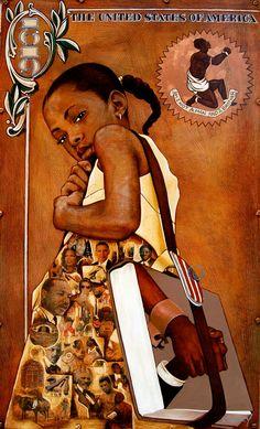 """Gerald Ivey Art, """"I Am History""""."""