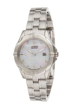 Citizen Watches EW1930-50D Ladies' Diamonds (Silver Tone Stainless Steel) Analog Watches - Citizen Watches, EW1930-50D Ladies' Diamonds, EW1930-50D, Jewelry Watches Analog, Analog, Watches, Jewelry, Gift, - Street Fashion And Style Ideas
