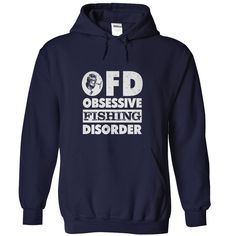 Obsessive Fishing Disorder, Order HERE ==> https://www.sunfrog.com/Outdoor/Obsessive-Fishing-Disorder-NavyBlue-Hoodie.html?70559, Please tag & share with your friends who would love it , #renegadelife #birthdaygifts #jeepsafari