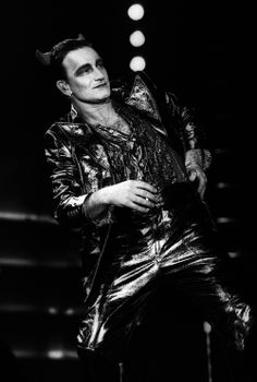 Bono adopted the on-stage guise of Mister MacPhisto, a devilish aristocratic character during stops on 1993 Zoo TV tour. U2 Zooropa, Bono U2, Music Guitar, My Music, Zoo Station, Black Panther King, Achtung Baby, Larry Mullen Jr, U 2