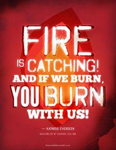 Le feu ça se propage ! Et si nous devons brûler, vous brûlerez avec nous !
