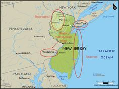 New Jersey is centrally located near many major attractions. | Why It's Awesome To Be From New Jersey