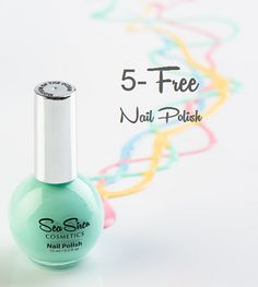 "Your health is our concern and at Sea Siren Cosmetics our nail polish formula is ""5 FREE"". This means they are free of the 5 nasty toxins being Formaldehyde, Dibutyl Phthalate, Toulene, Formaldehyde Resins and Camphor without affecting the professional quality. The colour featured is #motionoftheocean from our #dreamydelights collection. Cruise on over to www.seasiren.com.au to view the collection. #seasirencosmetics #seasiren #nailpolish #vegan #crueltyfree #5free #nails #nailart #travel 5 Free Nail Polish, Sea Siren, Resins, Us Nails, Cruelty Free, Nailart, Cruise, Perfume Bottles, Cosmetics"