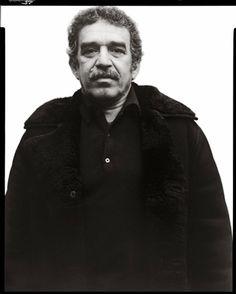 Gabriel Garcia Marquez ~ by Richard Avedon