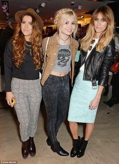 Looking good: Nina Nesbitt and Jade Williams aka Sunday Girl look cutting-edge