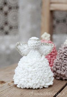 Lululoves Crochet Christmas Angels