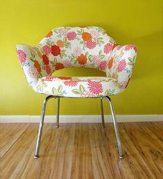 Mid Century Chair Vintage Saarinen by RewindHomeInteriors on Etsy