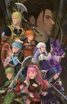 Fire Emblem Wallpaper, Character Art, Character Design, Fire Emblem Games, Fire Emblem Characters, Blue Lion, House Illustration, Animation, Manga