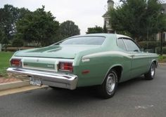 1974 Plymouth Duster Twister Slant-6, mom had at least 4 of these