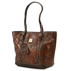 Disney Sketch Leather Shopper Bag by Dooney & Bourke