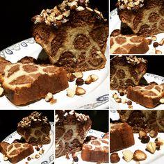 Brioche léopard chocolat noisette #leopardbread