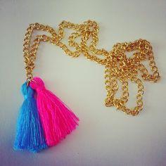 necklace collar collares shuuforyou fashion design moda accessories bisuteria bijoux jewelry accesorios style beautiful eshop blogger bobble neon fluor colors gold