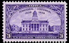 US Stamps 1938 Prexies