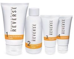 The good news is...It's reversible! Dr. Rodan and Dr. Fields developed REVERSE to exfoliate, lighten, brighten, and protect the skin. REVERSE combats the signs of environmental aging to give you a radiant, even, younger-looking complexion. Contact me to Discover REVERSE for Yourself... www.betsytucker.myrandf.com