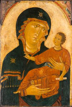 Madonna and Child // circa 1230–1240 // Artist: Circle of the Berlinghieri Family