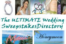 A Directory of the wedding sweepstakes from all over the Internet. http://www.ocwedding.org/wedding-sweepstakes/ has the most up-to-date wedding sweepstakes on Pinterest.