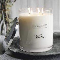 Indulge in a gorgeous, warming Winter Christmas Fragrance throughout the festive season. Explore The White Company's exclusive collection online today. Christmas Candle Decorations, Christmas Candles, Christmas Scents, Christmas Gift Guide, Scented Candles, Candle Jars, Candle Diffuser, Fall Candles, The White Company