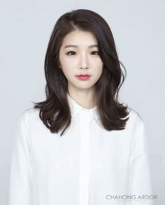 Korean hair hair salons and jun ji hyun on pinterest for C curl perm salon vim
