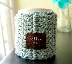 I could use this super cute mug cozy!