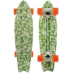 GLOBE Skateboard BANTAM CRUISER GREEN KONA GRAPHIC Plastic 70's Retro Style by Globe. $89.00. Presenting the first ever all graphic plastic skateboards. This new sick bantam shape measures 6in x 23in, and is perfect for cruising. Hooked up with graphic slant trucks, and 60mm 78a Globe cruiser wheels.