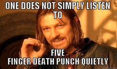 Five finger death punch meme - Google Search