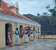 A Bulawaya dance. - Curacao