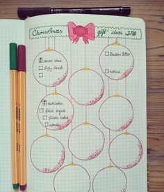 Gift ideas for #christmas  #bulletjournallove #bulletlove #bulletjournaling #bulletjournal #bujo #planner #planneraddict #journal #plannergirl #planningcommunity #planerlove #organize #stabilo88 #stabilo #rystor