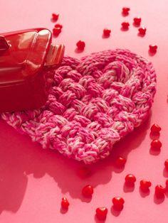True Love Trivet | Yarn | Free Knitting Patterns | Crochet Patterns | Yarnspirations