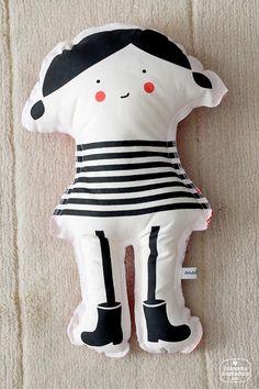 Textiles infantiles para la imaginación, de Ana DelgarUna Mama Diseñadora