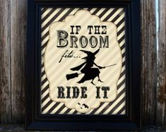 Printable Halloween Decor Yes I can Drive a by LadybirdPress