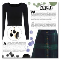 """""""SheIn"""" by little2amsterdam ❤ liked on Polyvore featuring Kenneth Jay Lane, Sheinside and shein"""
