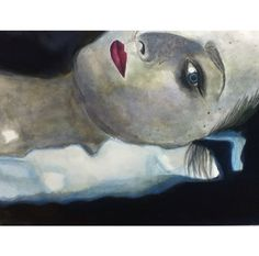 A2 Watercolour Painting - A2 Fine Art - 'Identity' - 'Louise in the bath'